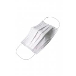 3 Katlı Telli Koruyucu Maske Beyaz 50 Adet