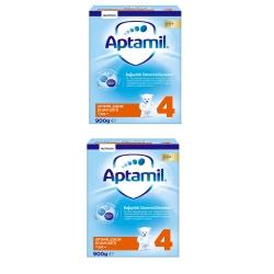 Aptamil 4 Devam Sütü 1+ Yaş 2X450 Gr 2'li paket