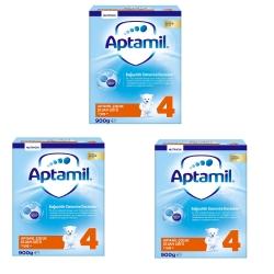Aptamil 4 Devam Sütü 1+ Yaş 2X450 Gr 3'lü Paket