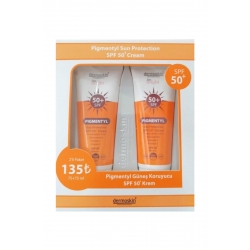 Dermoskin Pigmentyl SPF 50+ 75 ml 2 li Paket Kofre