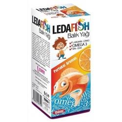 Ledafish Balık Yağı Portakal Aromalı 150 ml