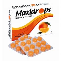 Maxidrops Portakal - C Vıtamınlı 24 Pastil
