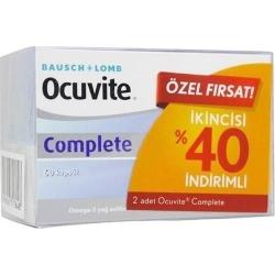 Ocuvite Complete 2 Li Ekonomik Paket 2X60 Kapsül