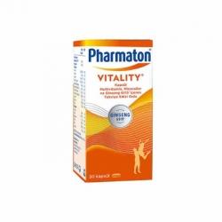 Pharmaton Vitality 30 Kap