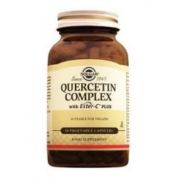 Solgar Quercetin Complex + Ester-C Plus 50 Kapsül