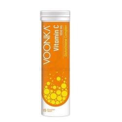 Voonka Vitamin C Glytathione Complex 15 Efervesan Tablet