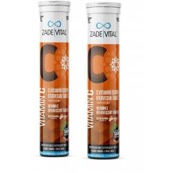 Zade Vital Vitamin C Efervesan 20 Tab 2'li paket